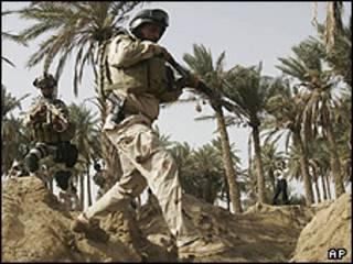 نیروهای آمریکایی در عراق