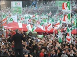 گفته شده بیش از دو میلیون نفر در این تجمع اعتراضی شرکت داشتند.