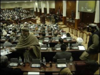مجلس نمایندگان افغانستان (عکس از آرشیو)