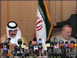 منوچهر متکی و عبدالرحمان العطیه