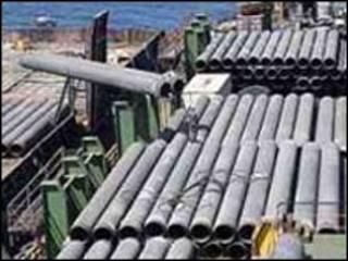 تاسیسات خط لوله گاز در ایران
