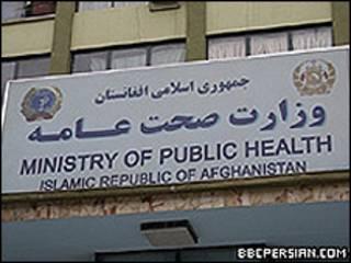 وزارت صحت افغانستان