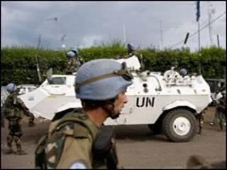 نیروهای حافظ صلح سازمان ملل در گوما، کنگو
