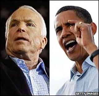 اوباما - مک کین