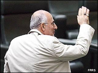 علی کردان در صحن مجلس
