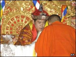 تاجگذاری پادشاه جدید بوتان