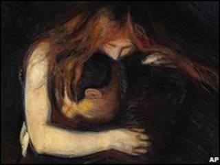 """اثر """"خون آشام"""" از ادوارد مونک"""