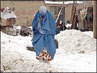 سرما در افغانستان (عکس از آرشیو)