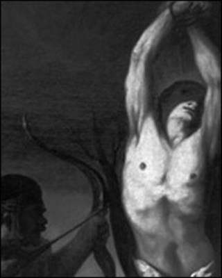 شهادت قدیس سباستیان،  اثری از حدود سال ۱۷۰۰ میلادی