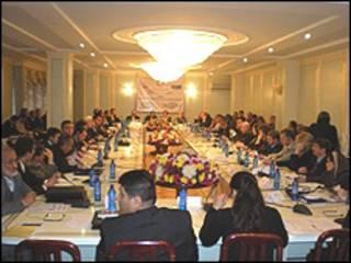 کنفرانس دوشنبه درباره آسیای میانه و افغانستان