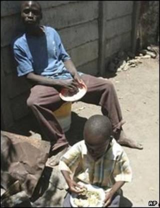 گرسنگی در زیمبابوه