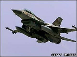 یکی از جنگده های اف-16 دی نیروی هوایی اسرائیل