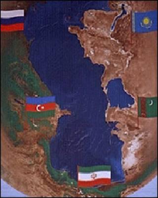 کشورهای ساحلی دریای خزر