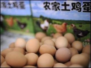 فروش تخم مرغ در چین