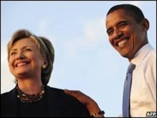 اوباما و کلینتون