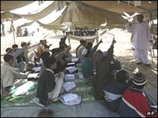 مدرسه ای در افغانستان، عکس از آرشیو