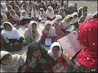 مدرسه ای در افغانستان