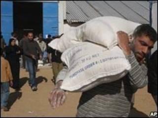 مواد امدادی سازمان ملل