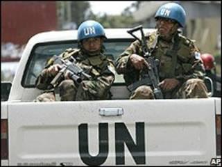 نیروهای سازمان ملل در گوما