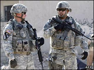 نظامیان آمریکایی در عراق