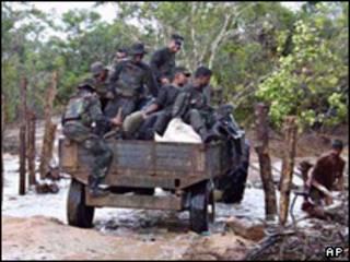 واحدهای ارتش سریلانکا
