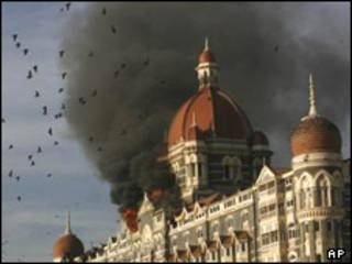 هتل تاج، در بمبئی