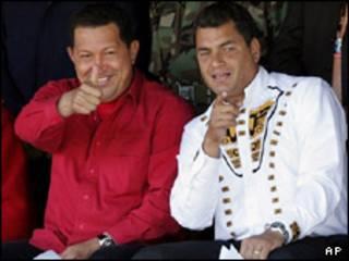 رافائل کورآ و چاوز