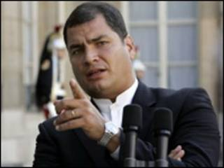 رئیس جمهور اکوادور