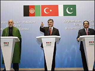 روسای جمهور افغانستان و پاکستان در ترکیه
