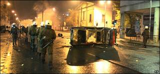 صحنه شورش در آتن