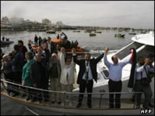 فعالان طرفدار فلسطینیان