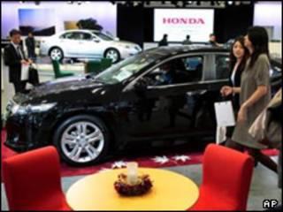 نمایشگاه خودرو در ژاپن