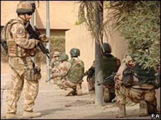 نیروهای بریتانیایی در عراق