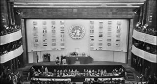 مجمع عمومی سازمان ملل در پاریس