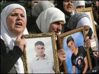 خانواده زندانیان فلسطینی