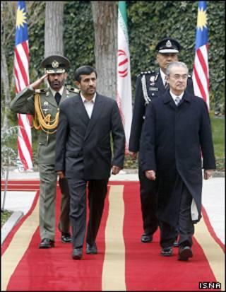 عبدالله احمد بداوی و محمود احمدی نژاد