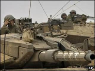 نیروهای اسرائیلی در نزدیکی مرز غزه