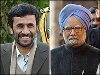 مان موهان سینک و محمود احمدی نژاد