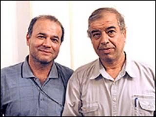 ابراهیم مددی و منصور اسانلو