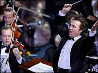 ولادیمیر سیرنکو رهبر ارکستر سمفونیک اوکراین