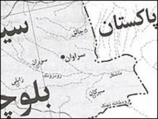 نقشه سیستان و بلوچستان