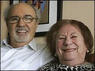 هرمن روزنبلت و همسرش