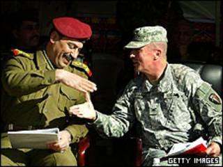 مراسم تحویل منطقه سبز به دولت عراق