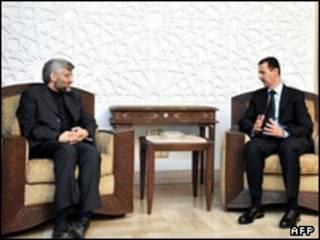 بشار اسد و جلیلی