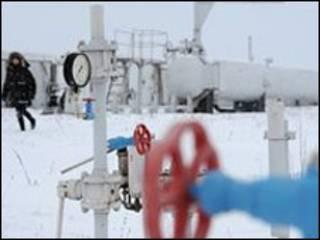 خط لوله گاز در اوکراین