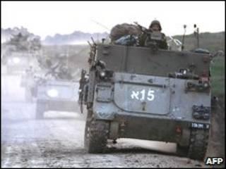 نیروهای اسرائیلی در نوار غزه
