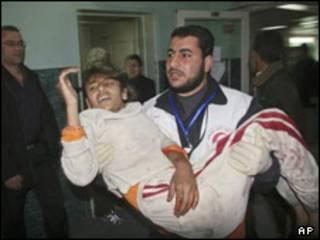 زخمی غزه