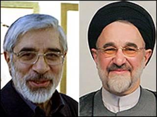 میرحسین موسوی و محمد خاتمی