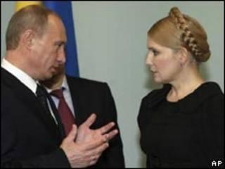 تیموشنکو و پوتین