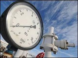 دستگاه فشار خط لوله گاز اوکراین